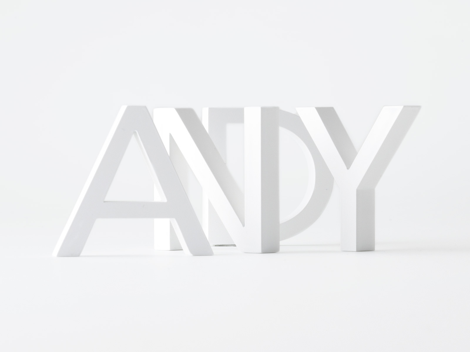 Andy Grimshaw - Andy 3D Logo