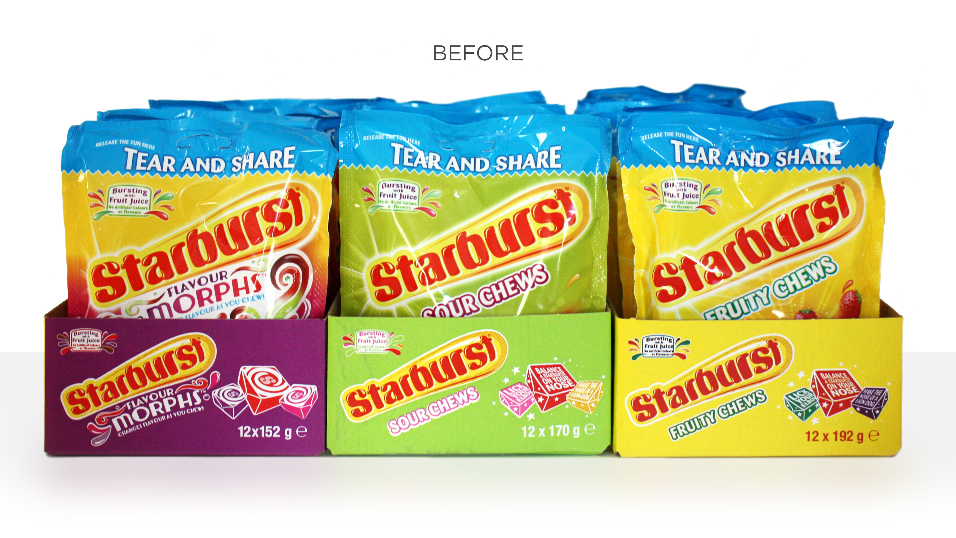 Starburst Before