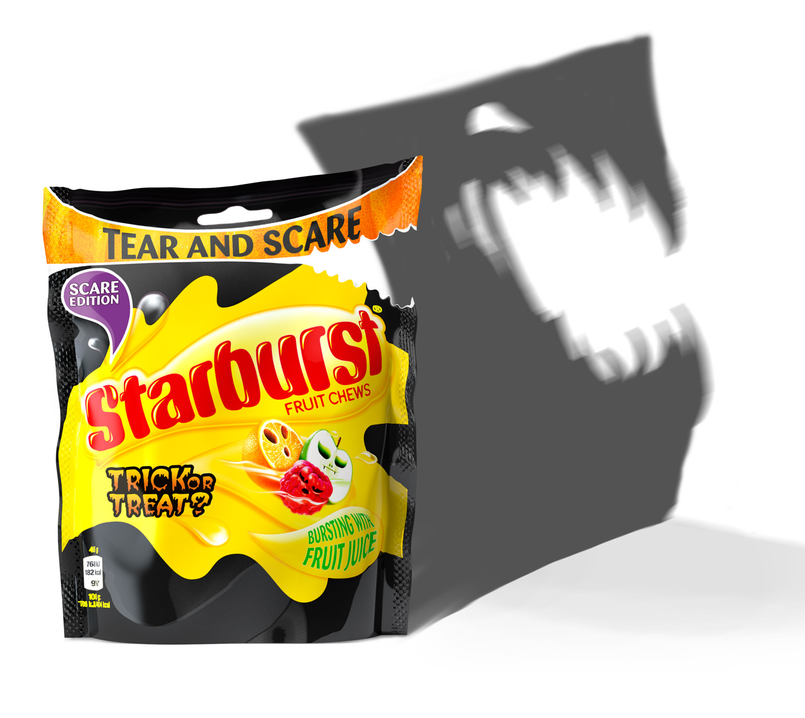 2014 Starburst Halloween Packaging Launch - Spooky Shadow
