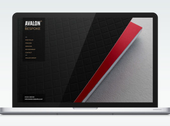 Avalon Website - Browser Homepage