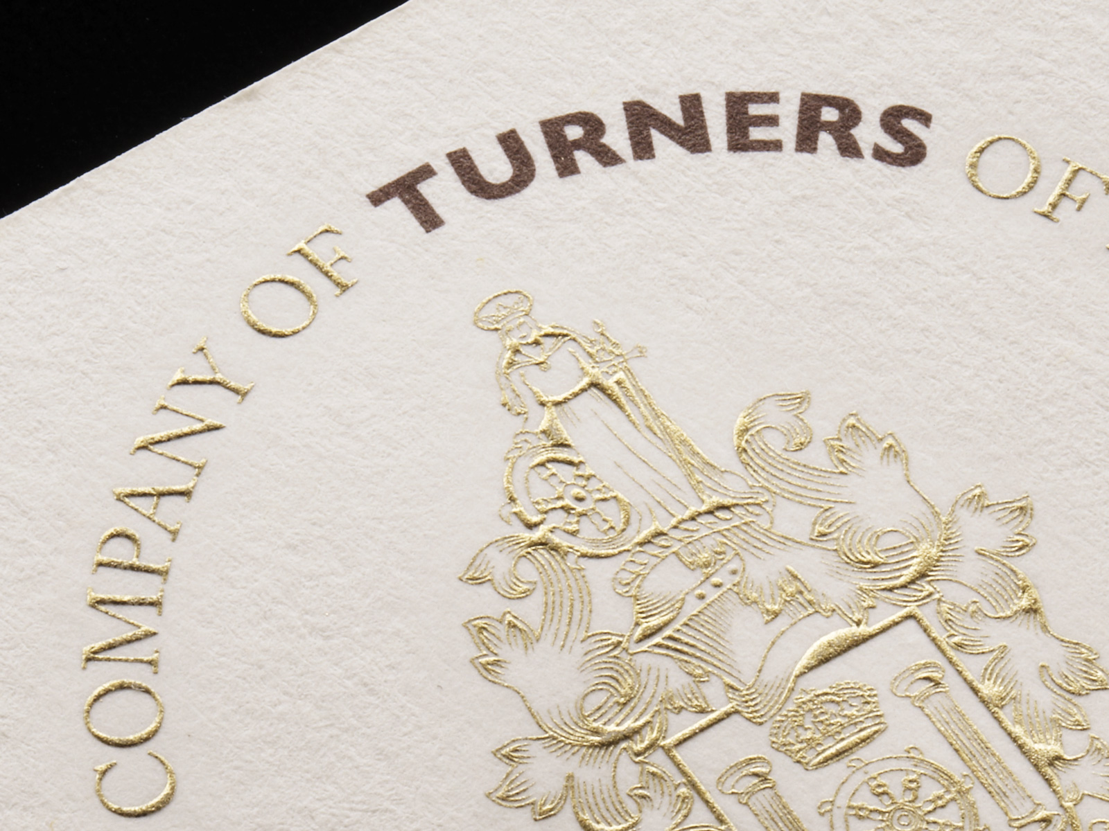 Worshipful Company of Turners Logo Close Up